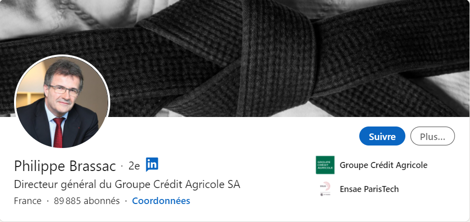 Philippe Brassac LinkedIn
