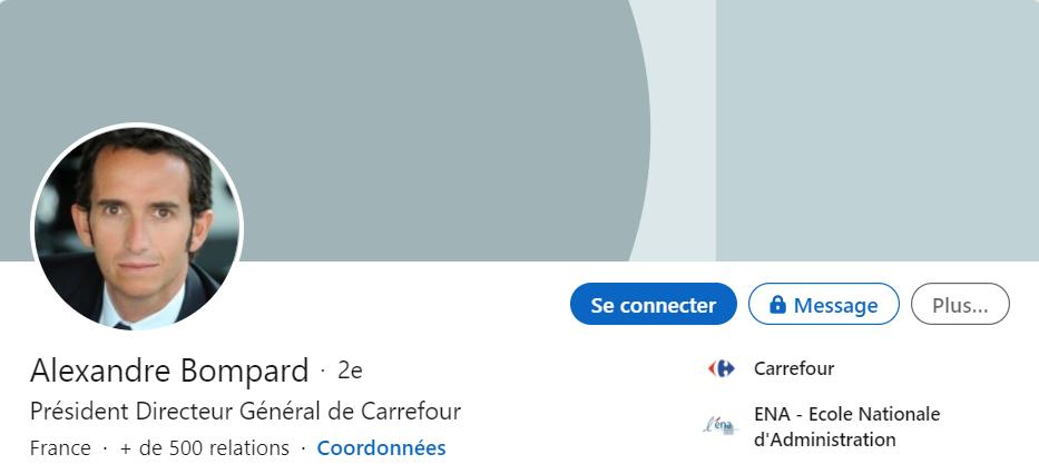 Alexandre Bompard LinkedIn